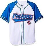 Starter Herren NBA Baseball inspirierte Mode Jersey, Herren, Starter Nba Baseball Jersey, weiß