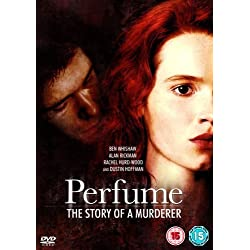 Perfume: The Story of a Murderer - DVD - Pathe Distribution | 2006 | 141 min | Rated BBFC: 15 | Sep 17, 2007 - Ben Whishaw (Actor), Francesc Albiol (Actor), Tom Tykwer (Director) Rated: Suitable for 15 years and over