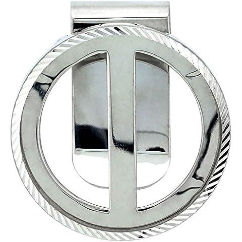 Revoni–Sterling argento cornice coin Money Clip per