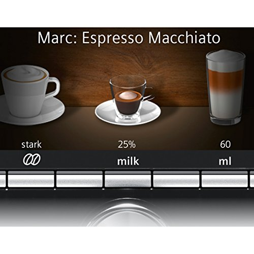 Siemens TI915539DE Kaffee-Vollautomaten (1500 W) schwarz - 2