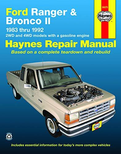Ford Ranger and Bronco II 1983 thru 1992 (Haynes Manuals) (Ford Ranger Haynes)
