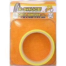 X-Sauce MTB Cinta para tubelizar, Amarillo, 23 mm
