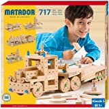 Matador Klassik 5 Wooden Construction Kit (715-Piece)