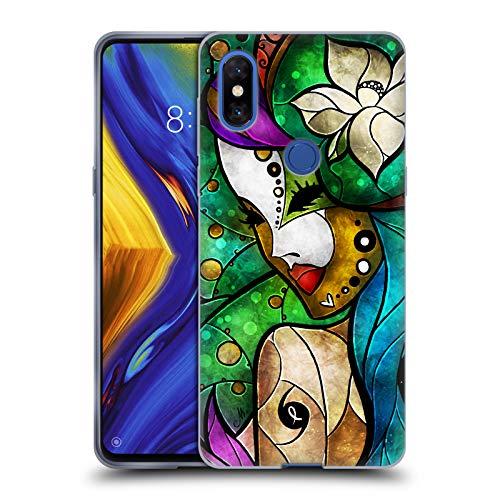 Head Case Designs Offizielle Mandie Manzano NOLA Feen Soft Gel Hülle für Xiaomi Mi Mix 3