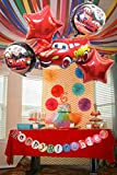 #7: 5 pc of set foil balloons (Red)