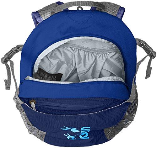 Jack Wolfskin Unisex Velocity 12 Rucksack, One Size deep sea blue