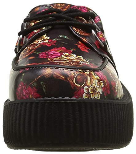 T.U.K. Viva Mondo Creeper Skull, Baskets Basses Mixte Adulte Multicolore (Multi Colour)
