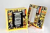 Zippo 1.310.011.1 Mechero de Jack Daniel's Label de escudo protector de pantalla de regalo Set, edición especial, alta de cromo pulido
