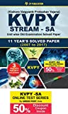 KVPY (Stream-SA) Kishore Vaigyan Protsahan Yojana 10 Years Unit wise Old Examination Solved Paper (2007 to 2016) with 3 Practice Papers