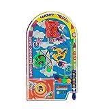 Goldyqin novità Space Race Gioco di Flipper Giochi di società Tirare Indietro Mini Set di Flipper per Sudsball per Bambini Regalo per Bambini Giocattolo Divertente - Casuale