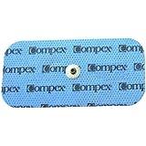 Compex - Pack de electrodos Easysnap Performance 5 x 10 cm - 2 unidades