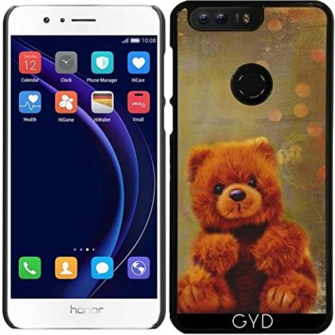 Custodia per Huawei Honor 8 - Orsacchiotto Di Peluche by Andrea (Mixed Brown Peluche)