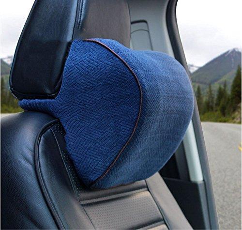blaues Gedächtnisbaumwollauto-Kopfstützeautomobil liefert die vier Jahreszeiten-Nackenschützer bequeme Art und Weise