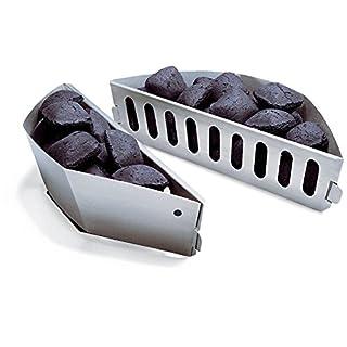 Bar.b.q.s Charcoal Briquette Fuel Holders For Weber 7403, 2 PCS