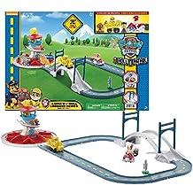 Paw Patrol On a Roll Deluxe Lookout Playset - pistas para vehículos de juguete (Paw Patrol, Multicolor, Niño, Caja)