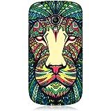 Head Case Designs Coque arrière pour Samsung Galaxy S3 Iii Mini I8190 Motif lion de style aztèque
