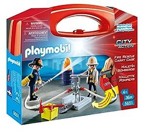 Playmobil Bomberos - Maletín grande Bomberos (5651)