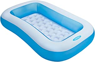 Intex Inflatable Rectangular Pool, Multi Color