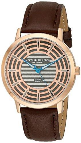 512vtnr2A6L - Stuhrling Original Rose Gold Mens 398.3345K54 watch