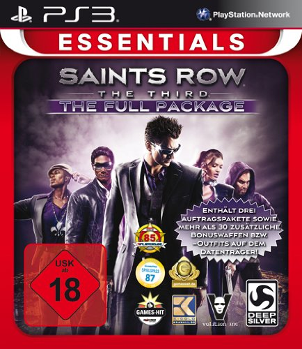 Saints Row The Third - The Full Package [Essentials] - [PlayStation 3] (Saint Row Ps3 3)