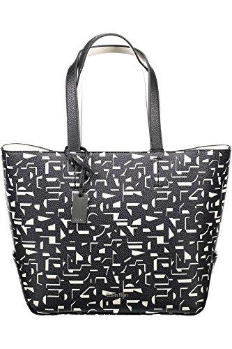 925fee593ed3ed Calvin Klein Edit Medium Shopper Borsa Black / Off White CK Print