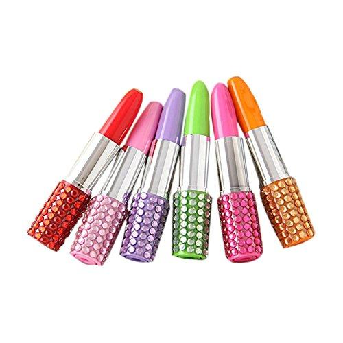 eativer Diamant lippenstift Stift Spielzeug Kugelschreiber Zufällige Farben ()