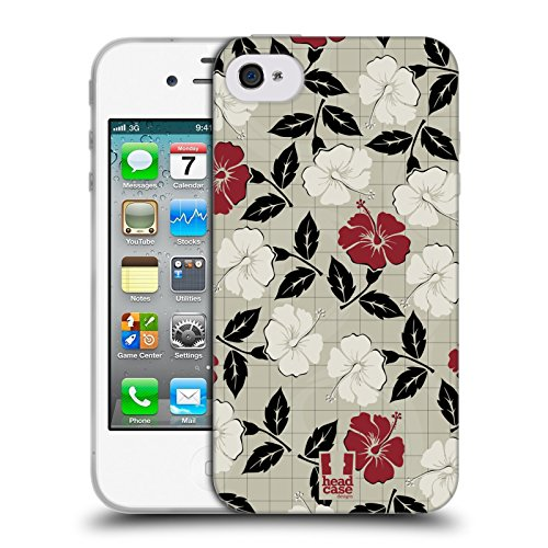 Head Case Designs Barattolo Di Sogni Barattoli Cover Morbida In Gel Per Apple iPhone 7 / iPhone 8 Ibisco