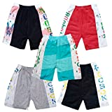 #5: Jisha Fashion daily wear hosiery cotton shorts ( Combo of 5)
