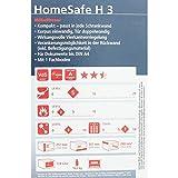 BURG-WCHTER-Mbeltresor-Elektronisches-Zahlenschloss-Sicherheitsstufe-A-HomeSafe-H-3-E-Schwarz