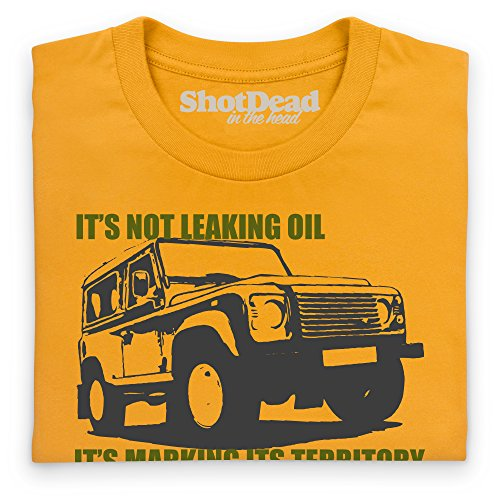 LRO Territory T-Shirt, Damen Gelb