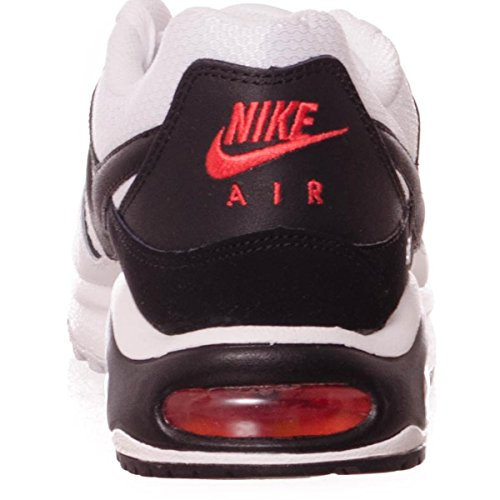 Nike Air Max Command, Sneakers basses homme White/Black-Max Orange