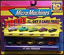 Micro Machines All-Terrain #7 Collection w/5 Bonus Cars