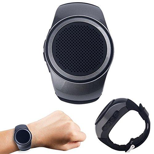 Bluetooth Speaker Wristband, DMG B 20 Speaker Watch, Wearable Speaker, Mini Multifunctional Bluetooth Sports Speaker,TF Card MP3 Music Player, FM Radio, Handsfree Calls, Selfie (Multicolour)