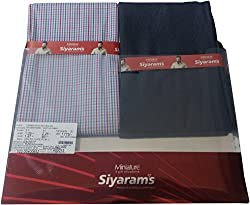 Siyaram Unstiched Pant + Shirt Gift Pack Combo @ FVB-CO602