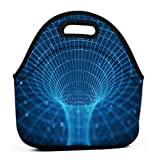 Leakproof Insulated Reusable Lunch Bag - Durable Compact Office Work School Lunch Box d tunnel wormhole tunnel can...