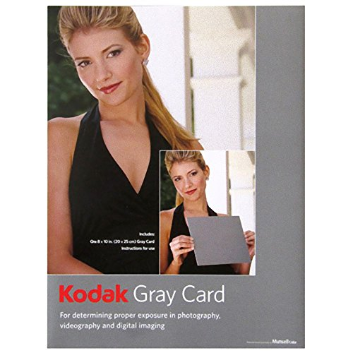 Kodak Gray Cards (Black and White Photography) -