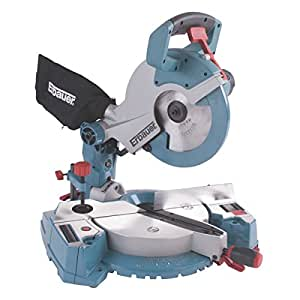Erbauer erb608msw 254mm compound mitre saw 230v for Gardening tools mitre 10