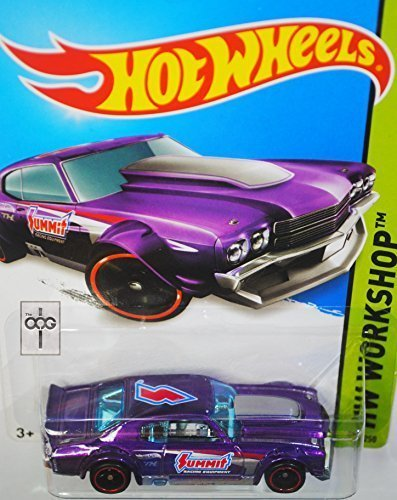 Chevelle 70 Chevy Hotwheels (2014 HOT WHEELS '70 CHEVY CHEVELLE 1:64 SCALE SECRET SUPER TREASURE HUNT WITH REAL RIDER/RUBBER TIRES by Hot Wheels)