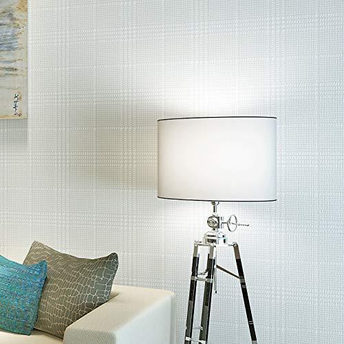 Yhyxll carta da parati a tinta unita minimalista moderna non tessuta della camera da letto del salotto della carta da parati del plaid 1
