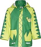 Playshoes Regen-Mantel Krokodil 408582, Giacca Impermeabile Bambino, Verde (900 Original), Taglia Produttore: 104
