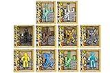 Toy Shed Spielzeug stikbot Figur (12Stück, Licht Blau/Blau/Grün/Gelb/Lila/Violett/Pink)