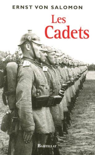 Les Cadets par Ernst von Salomon