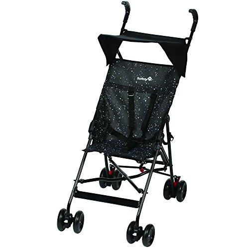 Safety 1st Peps, kompakter, leichter Buggy mit Sonnenverdeck, aus pflegeleichtem Material, schwarz/weiß gepunktet
