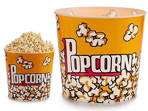 Takestop Recipiente Pop Corn Palomitas gigante redondo