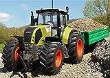 RC Traktor CLAAS Axion 870 + Anhänger in XL Länge 72cm