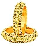 Bling N Beads Designer Gold Bangles Kada...
