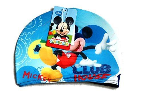 Bonnet de bain Mickey Disney (bleu)