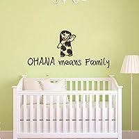 Ohana significa famiglia significa nessuno Get Left