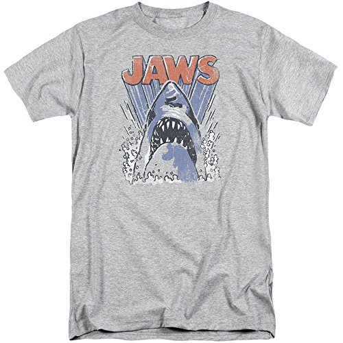 Jaws Herren T-Shirt Athletic Heather