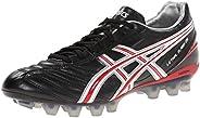 ASICS Men's Lethal Flash DS IT Soccer Shoe,Black/Fire Red/White,10.5
